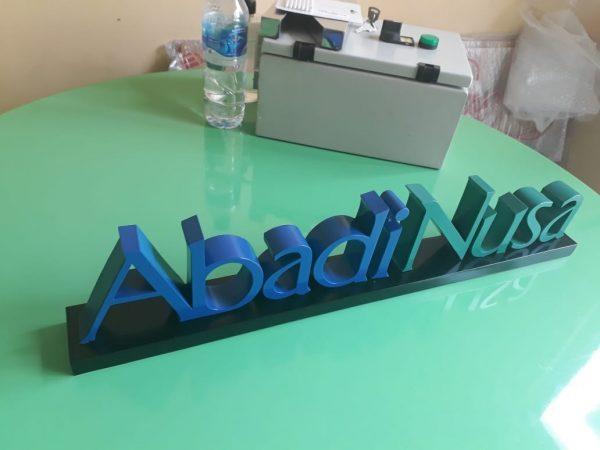 Abadi Nusa Letter Sign